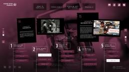 Fondation Martin Bodmer, app multitouch Guerre et Paix
