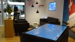 Swiss Air Lines Popup Experience Atracsys