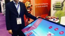 WatchGuard Touchscreen app