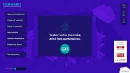 Atracsys PopupExperience App Forward EPFL 2019