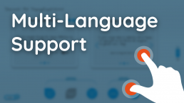 Multi-Language Support - PopupExperience By Atracsys Interactive