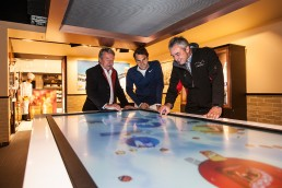 Lindt Museum Roger Federer Atracsys Interactive