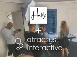 Photoshoot Atracsys Interactive Halloprod