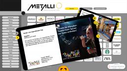 Metalli PopupExperience Atracsys Interactive